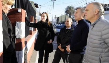 Macri y Vidal en Lanús